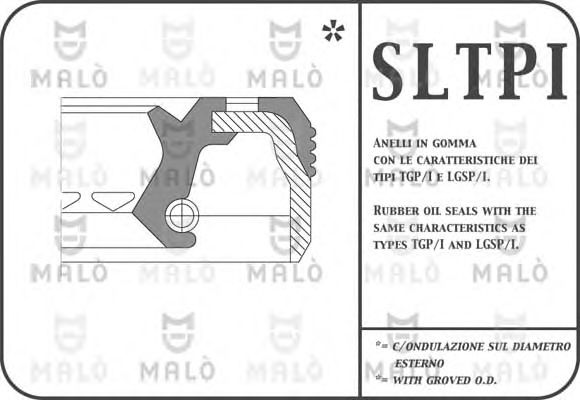 518PIFL Shaft Seal, differential