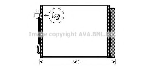 BWA5377D Condenser, air conditioning