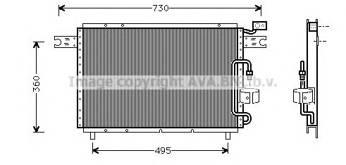 IS5021 Condenser, air conditioning