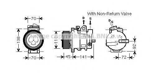 MSK569 Ignition Cable Kit