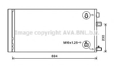 RT5618D Condenser, air conditioning