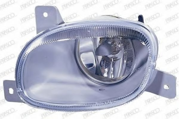 LED 6 inch -Black 2014 Ford FIESTA Post mount spotlight Driver side WITH install kit