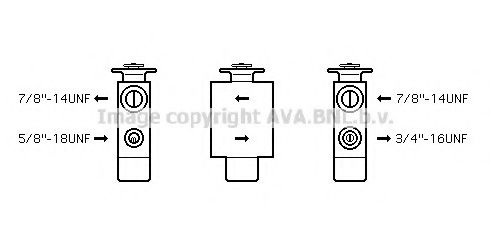BW1093 Expansion Valve, air conditioning