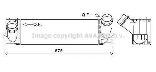 BW4494 Intercooler, charger