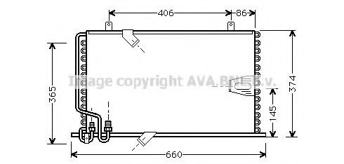 BW5184 Condenser, air conditioning