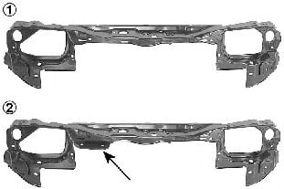 3734674 Front Cowling