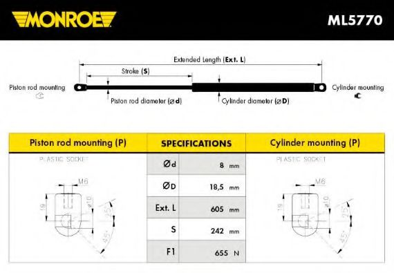 PRASCO BM0141244 Moulding