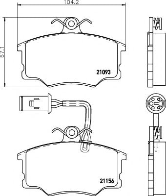 2115601 Joint, propshaft
