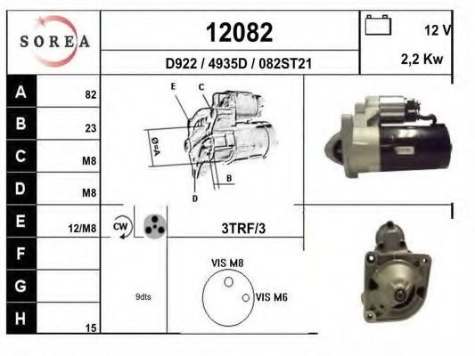 12082 Mounting Kit, exhaust system