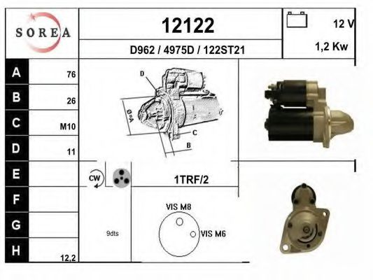 12122 Ignition Coil