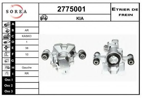 2775001 Mounting, automatic transmission