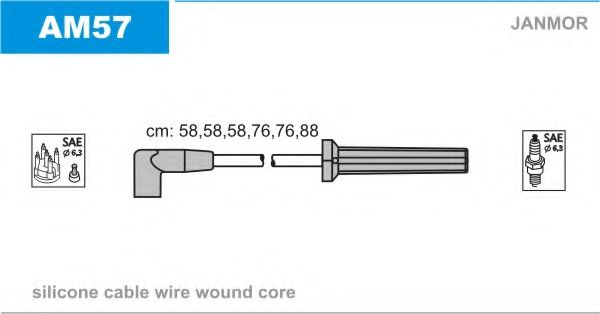 AM57 Ignition Cable Kit