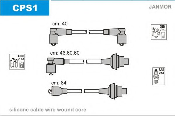 CPS1 Ignition Cable Kit