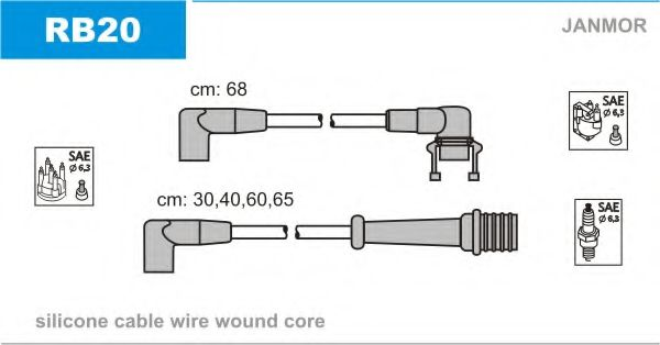 RB20 Ignition Cable Kit