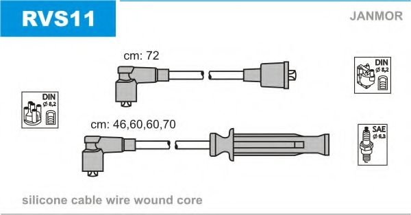 RVS11 Ignition Cable Kit