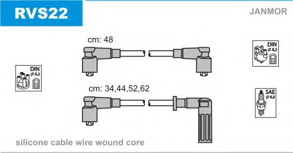 RVS22 Ignition Cable Kit