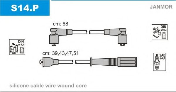 S14.P Ignition Cable Kit