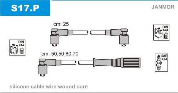 S17.P Ignition Cable Kit