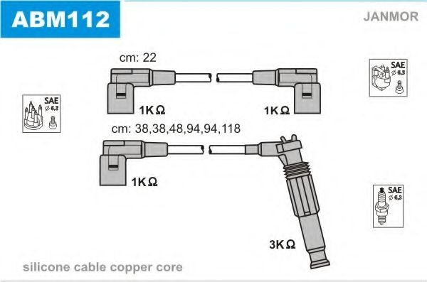 ABM112 Ignition Cable Kit