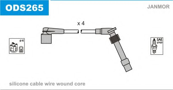 ODS265 Ignition Cable Kit