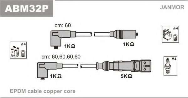 ABM32P Ignition Cable Kit