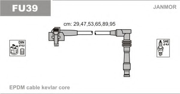 FU39 Ignition Cable Kit