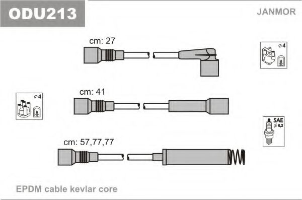 ODU213 Ignition Cable Kit