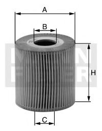 HU 718/1 x Lubrication Oil Filter