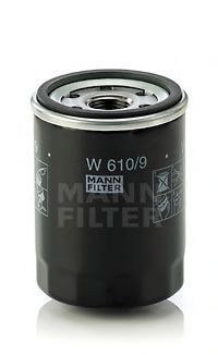 W 610/9 Lubrication Oil Filter