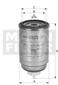 WK 950/22 Fuel Supply System Fuel filter