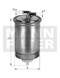 WK 853/15 Fuel Supply System Fuel filter