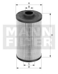 PU 707 x Fuel Supply System Fuel filter