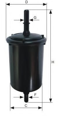 WK 730/6 Fuel Supply System Fuel filter