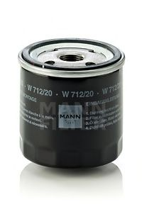 W 712/20 Lubrication Oil Filter