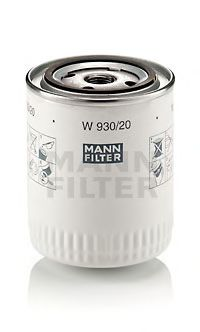 W 930/20 Lubrication Oil Filter