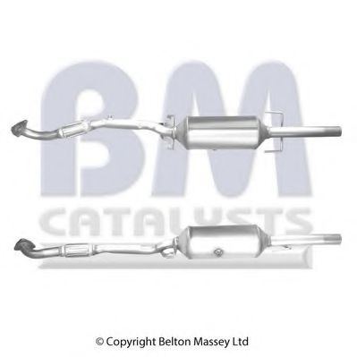 BM11154H Soot/Particulate Filter, exhaust system