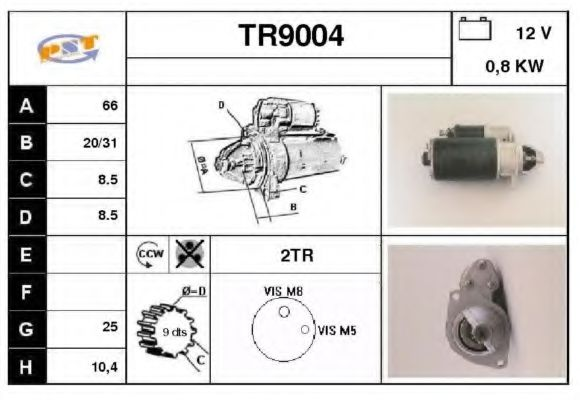 TR9004 Mounting, propshaft