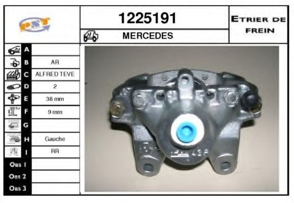 1225191 Mounting, automatic transmission
