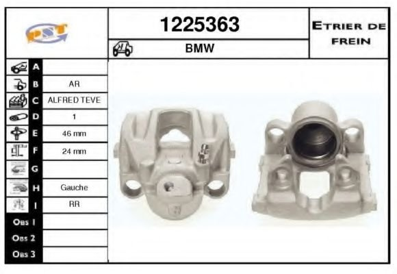 1225363 Mounting, automatic transmission
