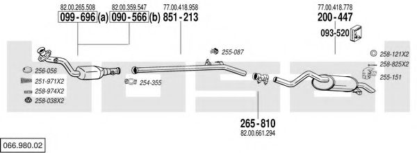 066.980.02 Exhaust System