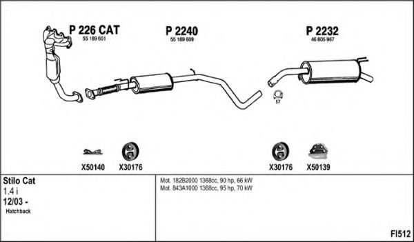 FI512 Exhaust System