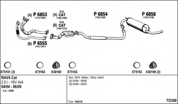 TO309 Exhaust System