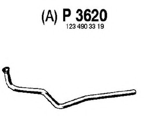 P3620 Exhaust Pipe
