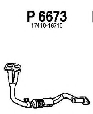 P6673 Exhaust Pipe