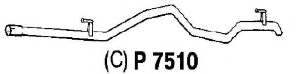 P7510 Exhaust Pipe