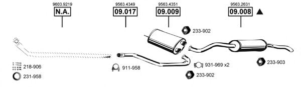 CI090650 Exhaust System