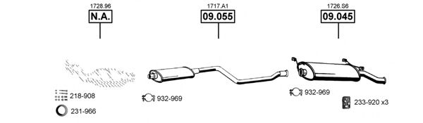 CI092445 Exhaust System