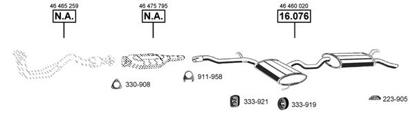 FI161300 Exhaust System