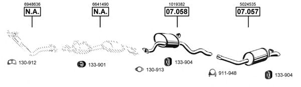 FO074895 Exhaust System