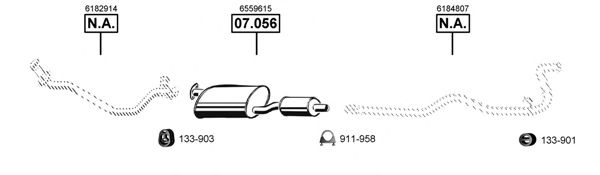 FO075215 Exhaust System